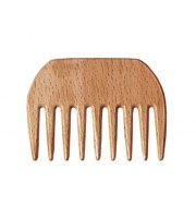 Gorgol,  Grzebień drewniany Afro mały art. 23 03 518
