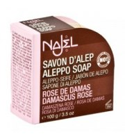 Najel, Mydło Aleppo z różą damasceńską, 100 g