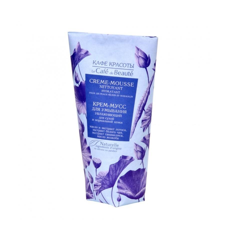 Le Cafe de Beaute, Nawilżająca krem - pianka od mycia twarzy – do skóry suchej i normalnej, 150 ml