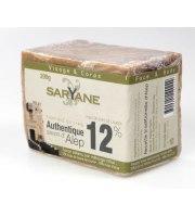 Saryane, Mydło z Aleppo 12% oleju laurowego, 200 g