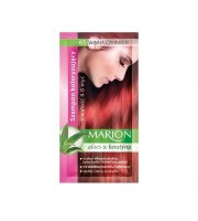 Marion, Szampon koloryzujący w saszetce, Winna czerwień - nr 65, 40 ml