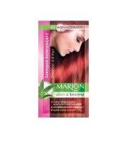 Marion, Szampon koloryzujący z saszetce, Winna czerwień - nr 65, 40 ml