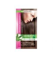 Marion, Szampon koloryzujący w saszetce, Średni brąz - nr 58, 40 ml