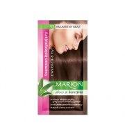 Marion, Szampon koloryzujący z saszetce, Aksamitny brąz - nr 52, 40 ml