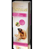Joanna, SENSUAL, Krem do depilacji nóg z olejem arganowym, 100 ml