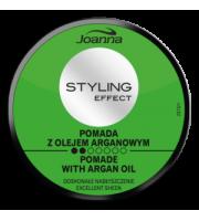 Joanna, STYLING EFFECT, Pomada nabłyszczająca z olejem arganowym, 80 g