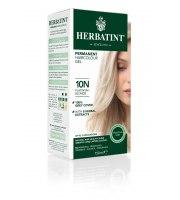 Herbatint, Trwała farba do włosów, 10N PLATYNOWY BLOND, seria naturalna