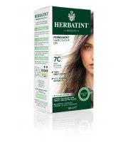 Herbatint, Trwała farba do włosów, 7C POPIELATY BLOND seria popielata