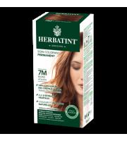 Herbatint, Trwała farba do włosów, 7M MAHONIOWY BLOND, seria mahoniowa
