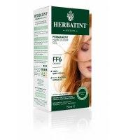 Herbatint, Trwała farba do włosów, FF6 POMARAŃCZOWY, seria modny błysk
