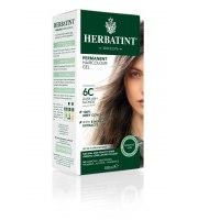 Herbatint, Trwała farba do włosów, 6C CIEMNY POPIELATY BLOND, seria popielata