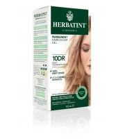 Herbatint, Trwała farba do włosów, 10DR JASNY MIEDZIANY ZŁOTY BLOND, seria miedziano-złota