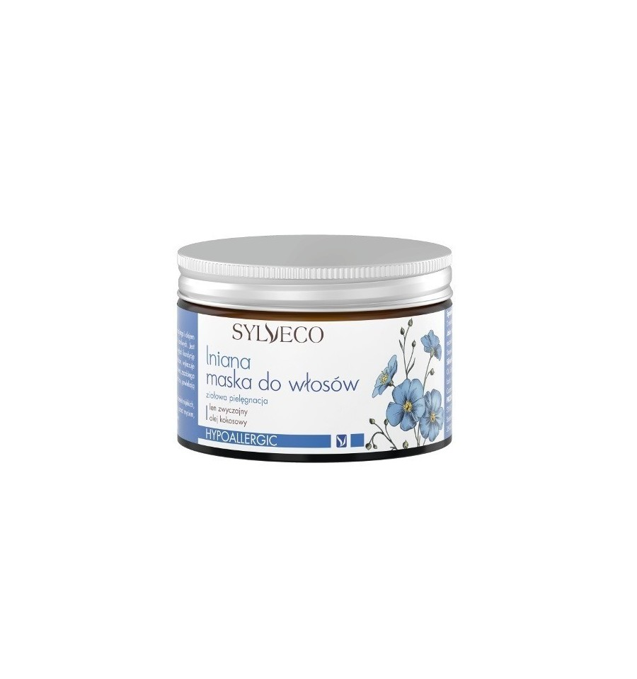 Sylveco, Lniana maska do włosów, 150 ml
