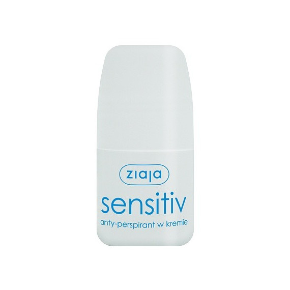 Ziaja, Antyperspirant w kremie SENSITIV, 60 ml