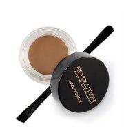 Makeup Revolution, Brow pomade - pomada do brwi - SOFT BROWN, 2,5 g