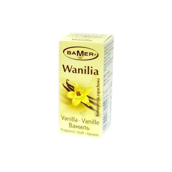 Bamer, Olejek zapachowy WANILIA, 7 ml