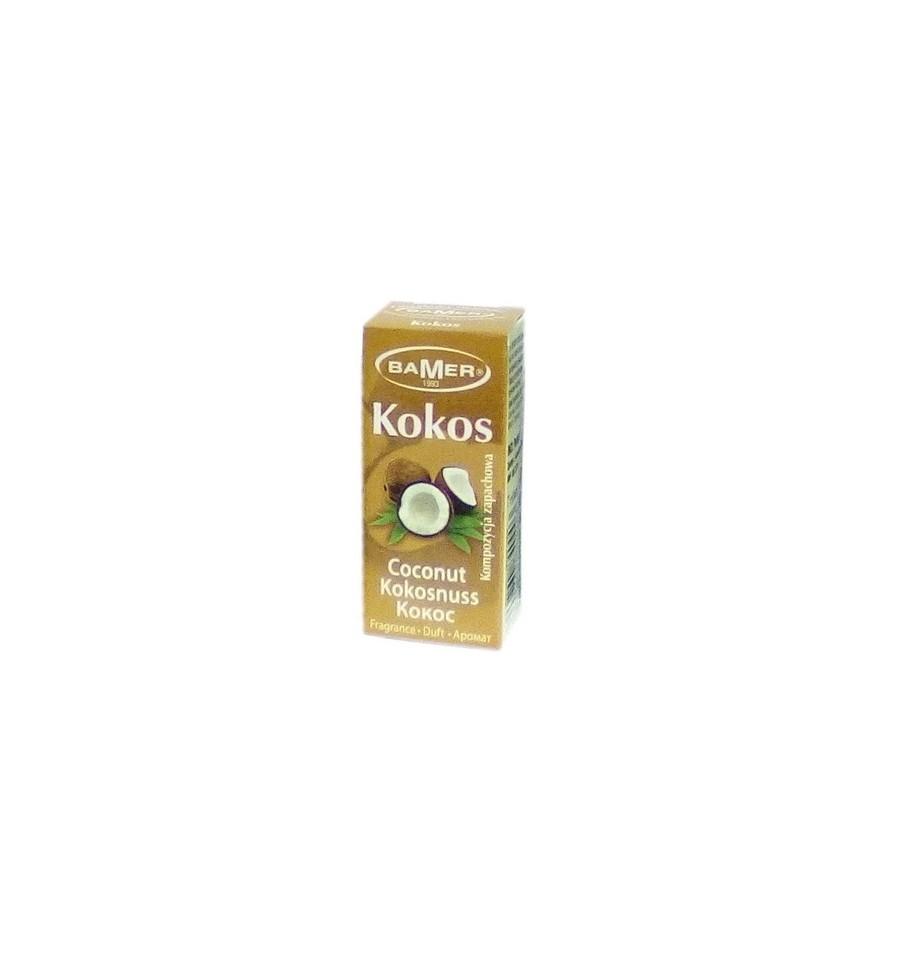 Bamer, Olejek zapachowy KOKOS, 7 ml