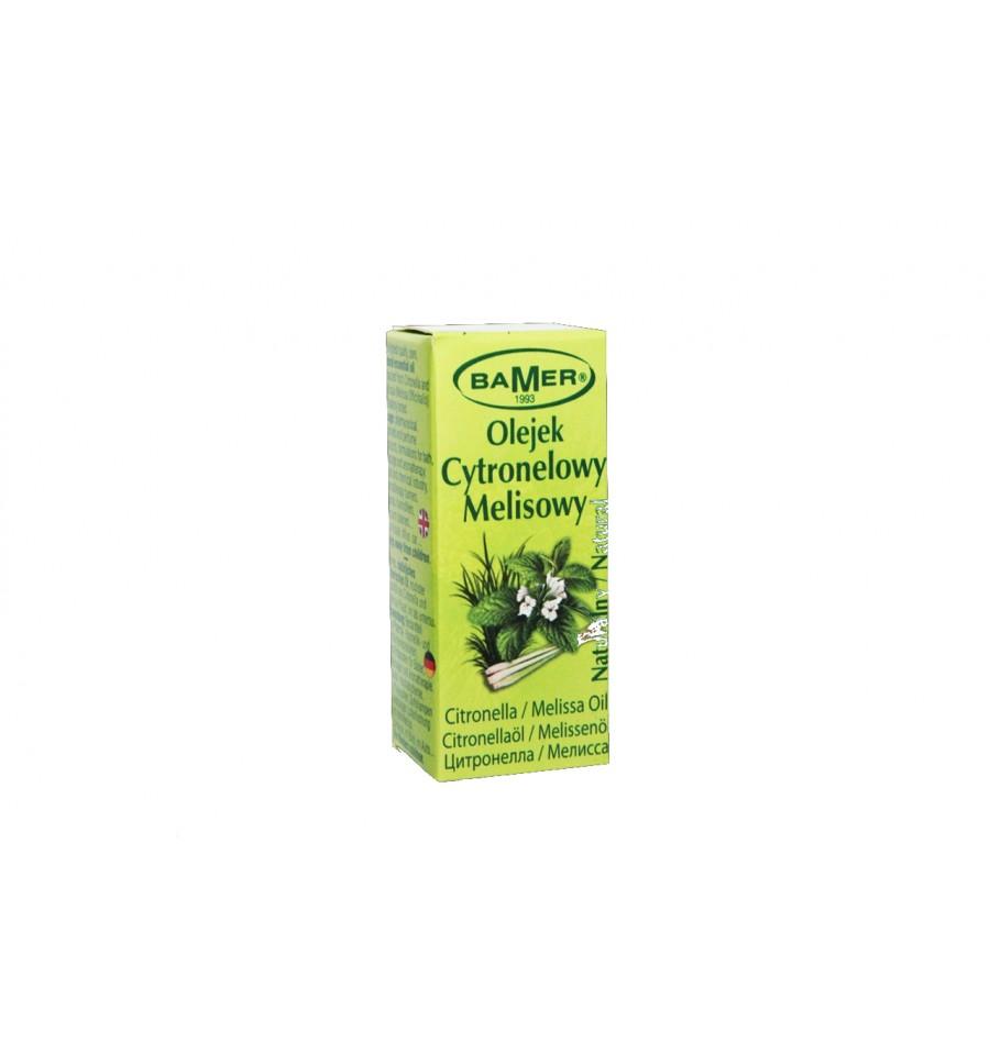 Bamer, Olejek CYTRONELOWY MELISOWY, 7 ml