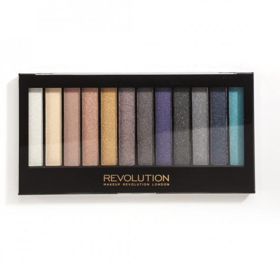Makeup Revolution, Paleta cieni DAY TO NIGHT