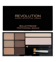 Makeup Revolution, Ultra Brow, Paleta do Brwi, Fair to Medium