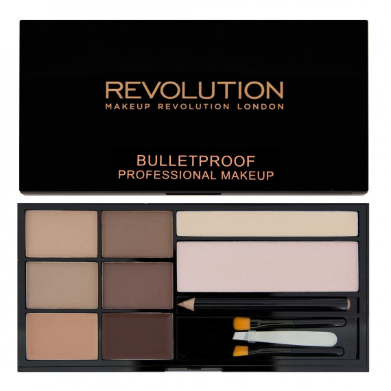 Makeup Revolution Ultra Brow Paleta do Brwi Fair to Medium