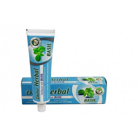 Dabur, Ziołowa pasta do zębów z Tulsi, 100 ml