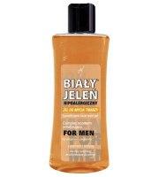Biały Jeleń For Men, Hipoalergiczny żel do mycia twarzy  z imbirem i biotyną, 175 ml
