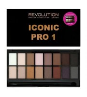 Makeup Revolution Paleta Cieni do Powiek ICONIC PRO 1