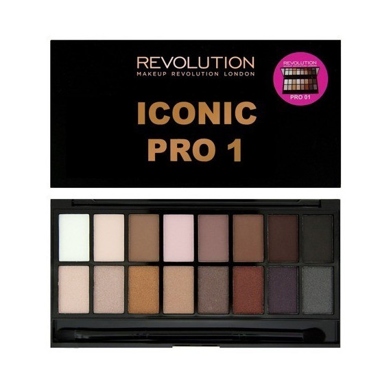 Makeup Revolution Paleta Cieni do Powiek ICONIC PRO 1