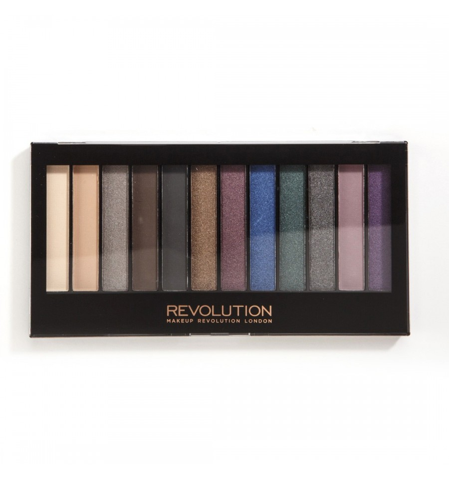 Makeup Revolution Paleta Cieni do Powiek HOT SMOKED