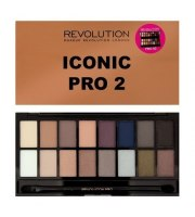 Makeup Revolution Paleta Cieni do Powiek ICONIC PRO 2