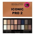 Makeup Revolution Paleta Cieni do Powiek ICONIC PRO 2