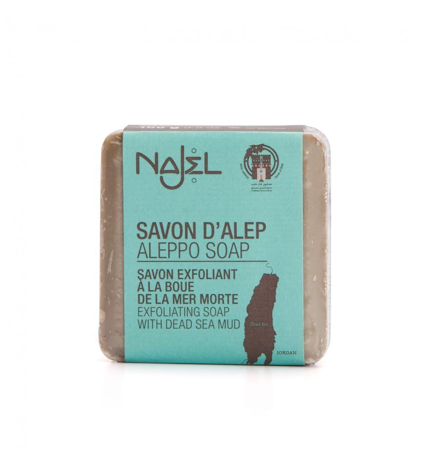 Najel, Mydło Aleppo z błotem Morza Martwego, 100 g