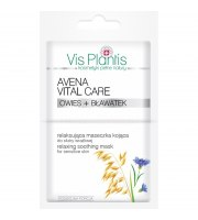 Vis Plantis, Avena Vital Care Maseczka relaksująca do skóry wrażliwej, 2x7 ml