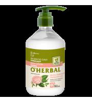 O'Herbal, Tonizujący BALSAM DO CIAŁA z ekstraktem z róży damasceńskiej, 500 ml