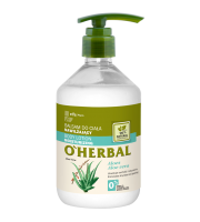 O'Herbal, Nawilżający BALSAM DO CIAŁA z ekstraktem z aloesu, 500 ml
