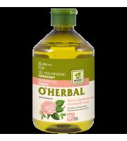 O'Herbal, Tonizujący ŻEL POD PRYSZNIC z ekstraktem z róży damasceńskiej, 500 ml