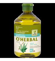 O'Herbal, Nawilżający ŻEL POD PRYSZNIC z ekstraktem z aloesu, 500 ml