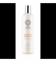Natura Siberica, Blanche - Witaminowy Szampon do Włosów Zamrożone Jagody, 400 ml