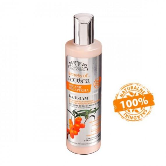 Planeta Organica, SECRETS of ARCTICA, Naturalny intensywny balsam do zniszczonych i osłabionych włosów, 280 ml