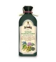 Receptury Babuszki Agafii, Szampon Ziołowy Czarny - Przeciwłupieżowy, 350 ml