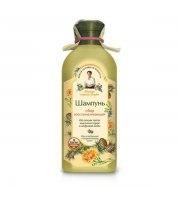 Receptury Babuszki Agafii, Szampon Agafii - szampon regeneracyjny do włosów osłabionych i zniszczonych, 350 ml