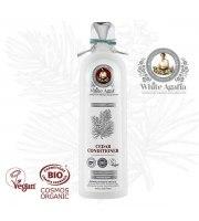 White Agafia, Balsam cedrowy do wszystkich typów włosów – odżywienie i odbudowa, 280 ml