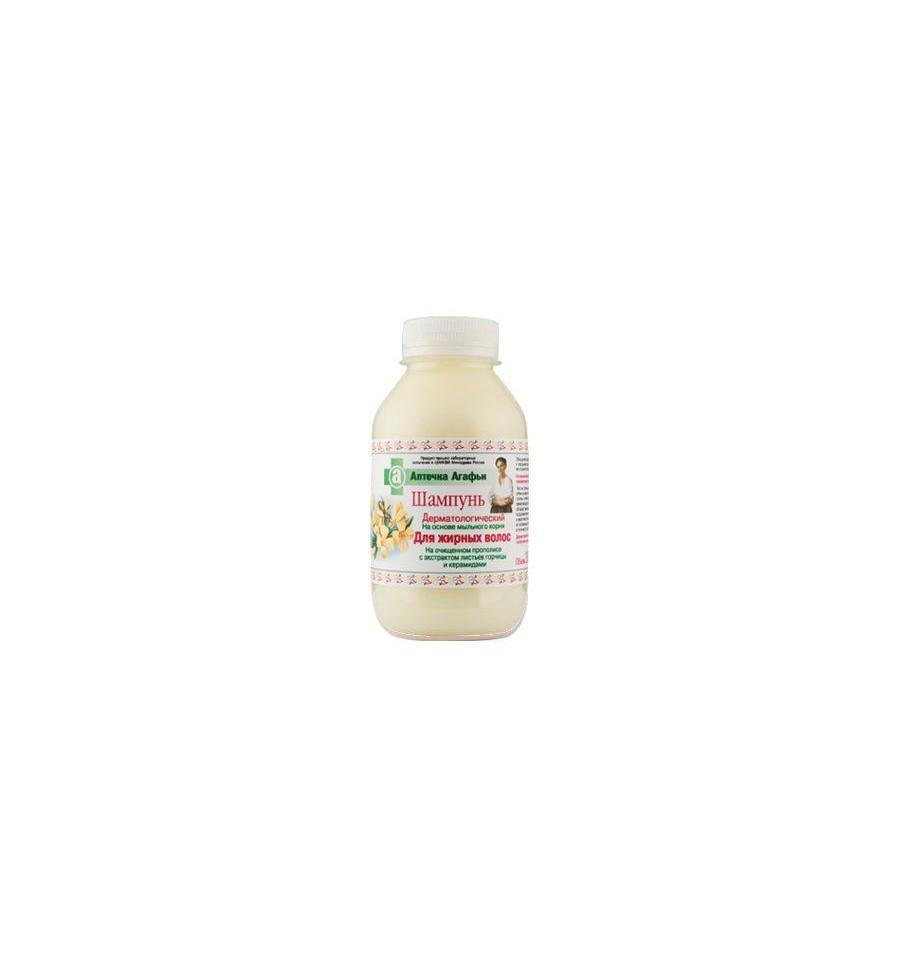 Apteka Agafii, Szampon Do Włosów Tłustych, 300 ml