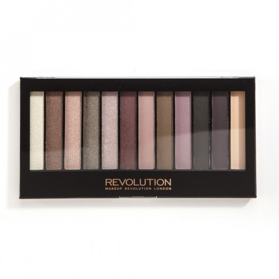 Makeup Revolution Paleta Cieni do Powiek Romantic Smoked