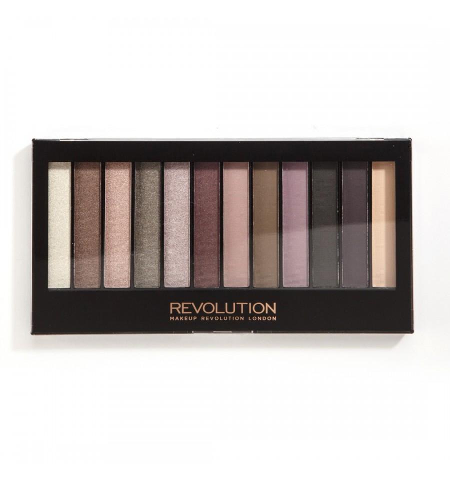 Makeup Revolution Paleta Cieni do Powiek Romantic Smoked