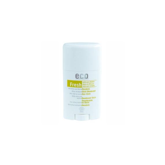 Eco Cosmetics, Dezodorant w sztyfcie z liściem oliwnym i malwą, 50 ml