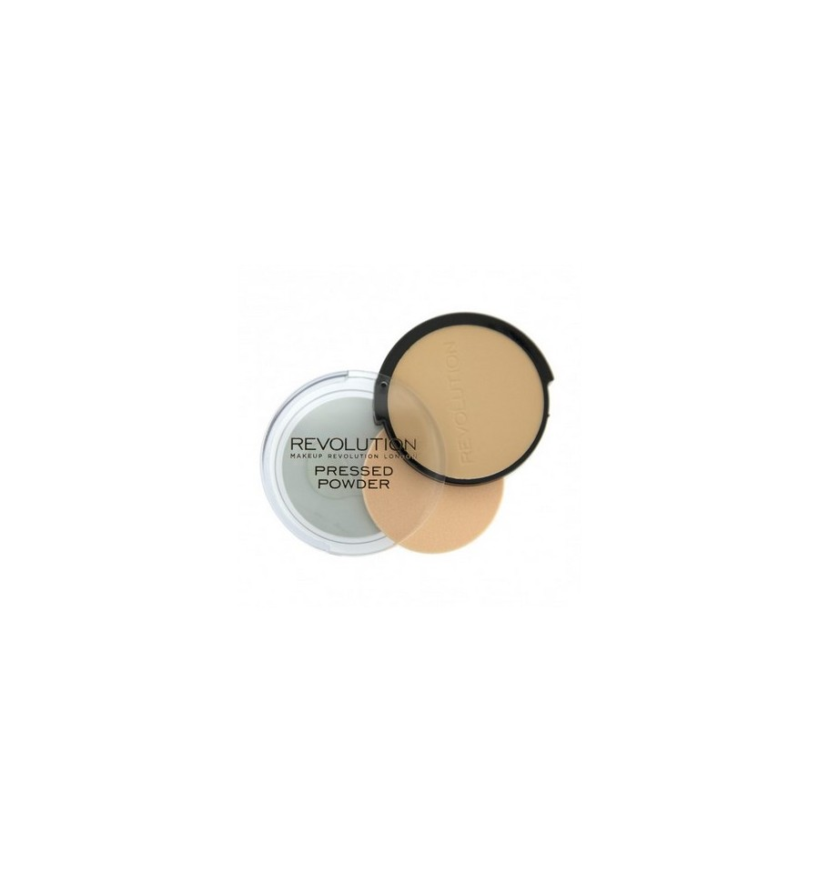 Makeup Revolution Puder Prasowany Translucent