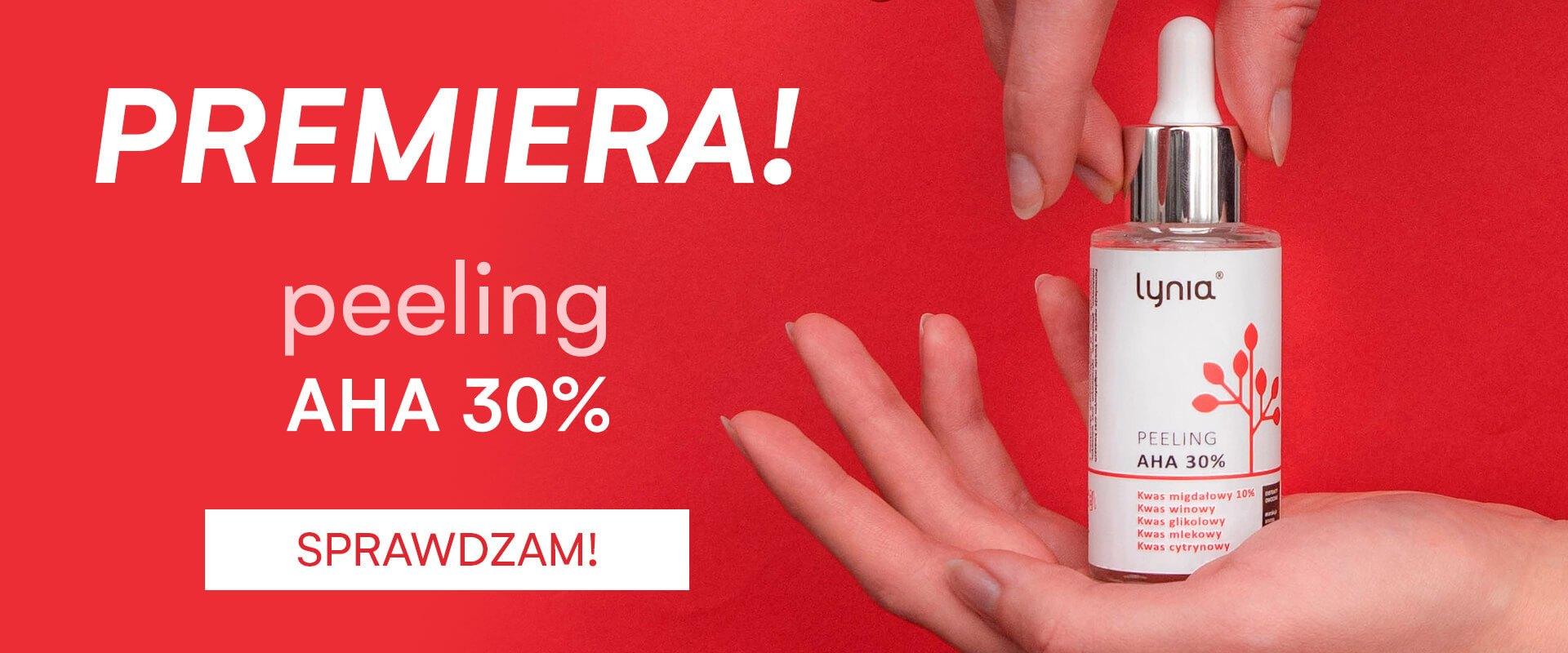 Peeling AHA 30% Lynia - premiera